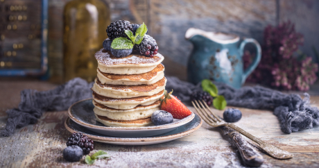 Yummy Blueberry Pancake Recipe
